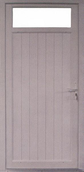 Portes d 39 entr e - Porte de service 190x80 ...