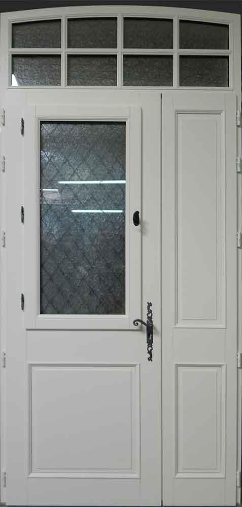 Fabricant de fen tres portes d 39 entr e sur mesures - Porte d entree avec partie fixe ...